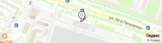 ЭлектроФорс на карте Новочебоксарска
