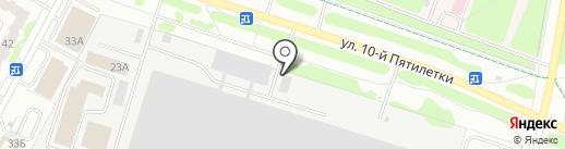 Реммастер на карте Новочебоксарска