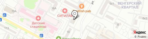Ситилаб на карте Новочебоксарска