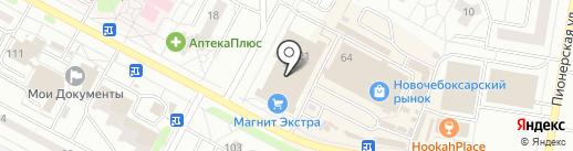 Мелодия здоровья на карте Новочебоксарска