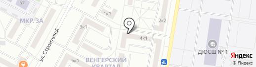 Нега на карте Новочебоксарска