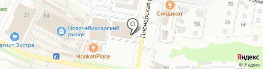 Kolobox на карте Новочебоксарска