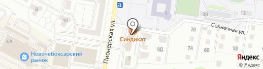 ЦИКиН на карте Новочебоксарска