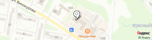 Магазин сантехники на карте Новочебоксарска