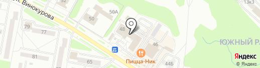Стильные окна на карте Новочебоксарска