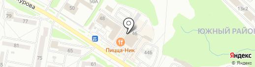 Торговая компания на карте Новочебоксарска