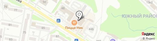 Ориентир на карте Новочебоксарска