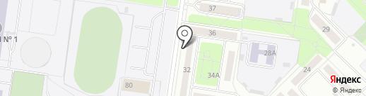 Адвокатский кабинет Корягиной И.В. на карте Новочебоксарска