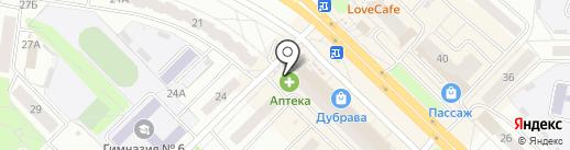 Чувашкредитпромбанк, ПАО на карте Новочебоксарска