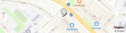 Киоск на карте Новочебоксарска