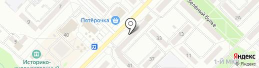 Рубль Бум на карте Новочебоксарска
