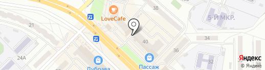 Магазин овощей и фруктов на карте Новочебоксарска
