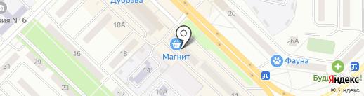 Мясная лавка на карте Новочебоксарска
