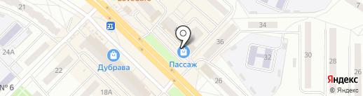 Цветочный магазин на карте Новочебоксарска