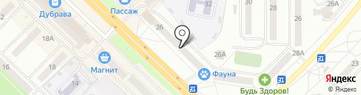 Доктор Франкенштейн на карте Новочебоксарска