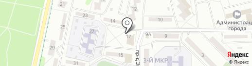 Камея на карте Новочебоксарска