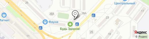 Банкомат, АКБ Чувашкредитпромбанк на карте Новочебоксарска