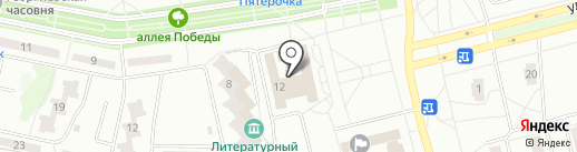Тевет кель на карте Новочебоксарска