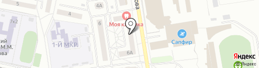 Радуга-2 на карте Новочебоксарска