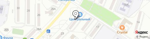 Визит на карте Новочебоксарска