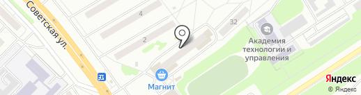 Народный на карте Новочебоксарска