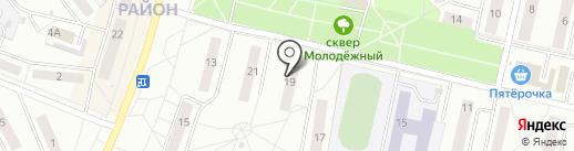 Нотариус Спиридонова Е.Г. на карте Новочебоксарска