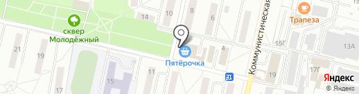 А-Мега на карте Новочебоксарска