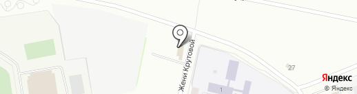 Радуга на карте Новочебоксарска