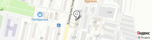 Диаманд на карте Новочебоксарска