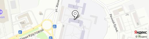 Новочебоксарский химико-механический техникум на карте Новочебоксарска