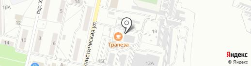 Автосервис на карте Новочебоксарска