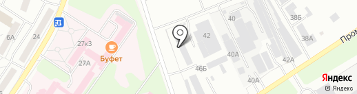 3D-light на карте Новочебоксарска
