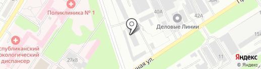 КБ-строй на карте Новочебоксарска