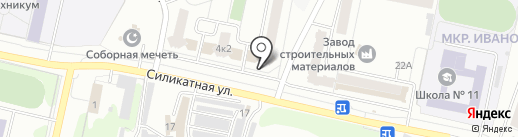 100+1 мелочь на карте Новочебоксарска