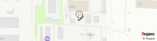 Иструм на карте Новочебоксарска