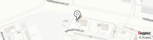 Почтовое отделение №4 на карте Новочебоксарска
