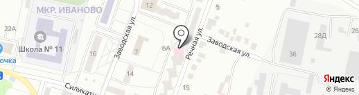 Поликлиника №1 на карте Новочебоксарска