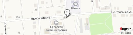Медведевское районное потребительское общество, ПК на карте Пекшиксолы