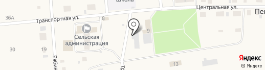 Колхоз Пригородный на карте Пекшиксолы