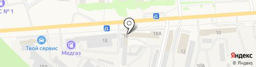 Центр автоматических трансмиссий на карте Медведево
