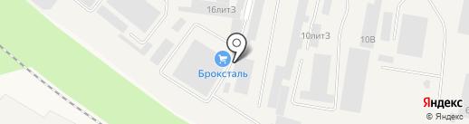 Автосила на карте Медведево