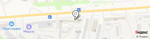 SEAT на карте Медведево