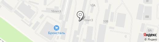Производственная компания на карте Медведево