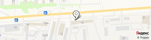 Автомойка на карте Медведево