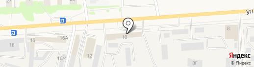 Минутка на карте Медведево