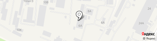Производственная фирма на карте Медведево