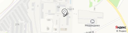Offroad12 на карте Медведево