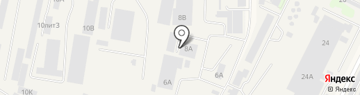 Селена на карте Медведево