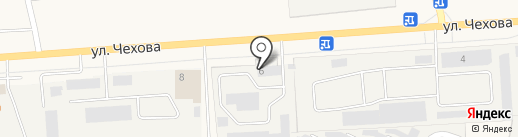 ЭксЖилФонд на карте Медведево