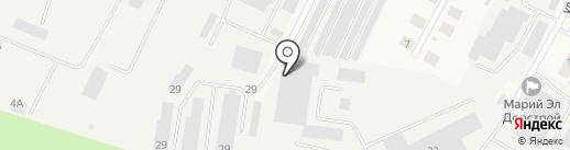 СпецМашины на карте Медведево